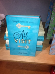 The Art of the Visit in Anthropologie stores!